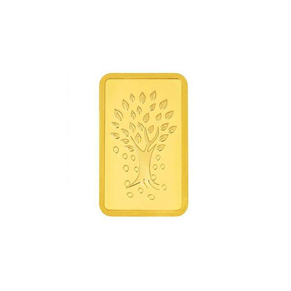 10g Gold Bar 24kt (999.9)  - Kalpataru Tree