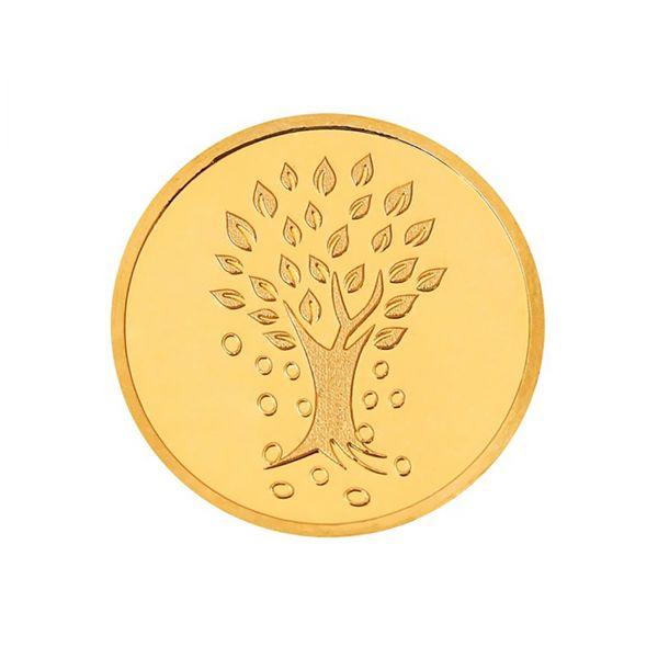 8g Gold Coin 24kt (999.9) - Kalpataru Tree