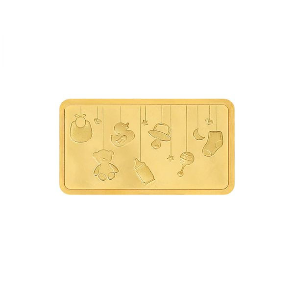 5g Gold Bar 24kt (999.9) - Baby