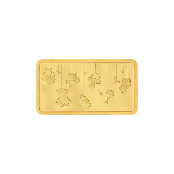 10g Gold Bar 24kt (999.9)  - Baby