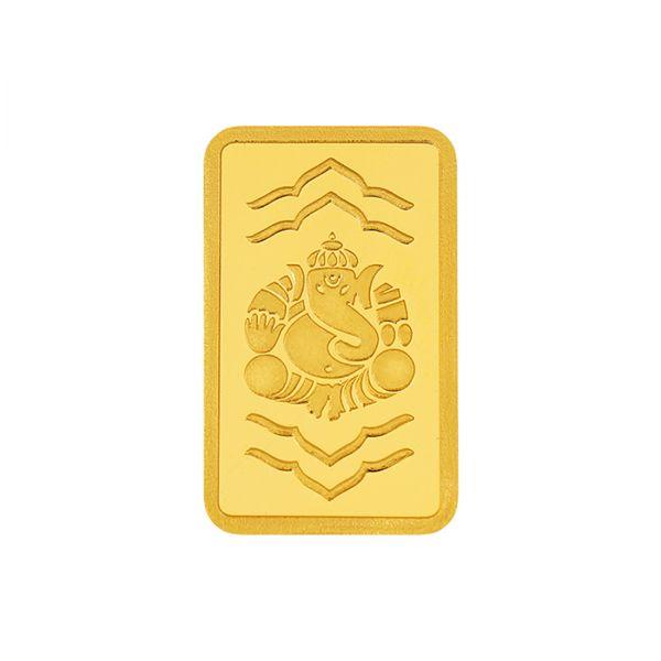 2g Gold Bar 24kt (999.9) - Ganesha