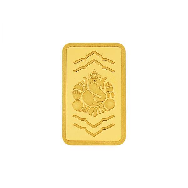 8g Gold Bar 24kt (999.9) - Ganesha