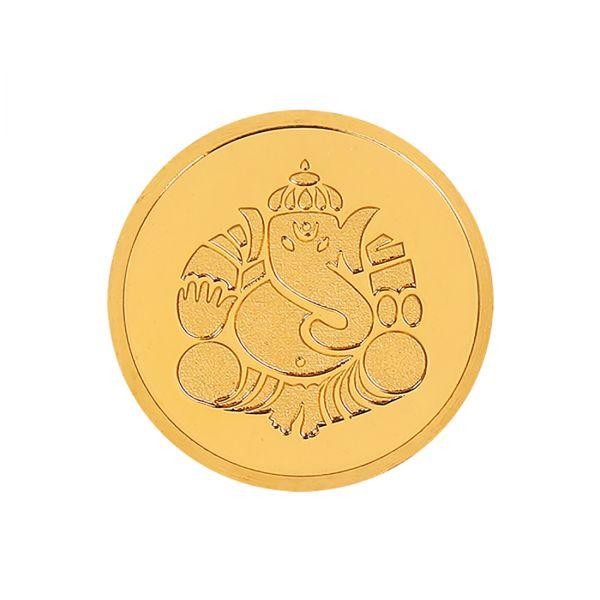 8g Gold Coin 24kt (999.9) - Ganesha