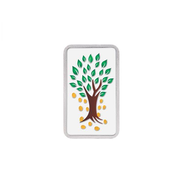 20g Silver Colour Bar (999.9) - Kalpataru Tree