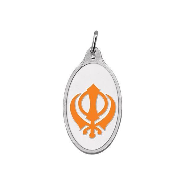 10.11g Silver Colour Pendant (999.9) - Khanda