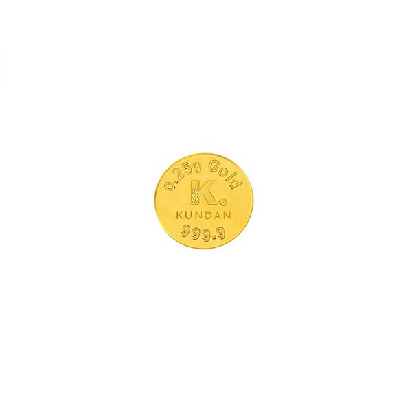 0.25g Gold Coin 24kt (999.9)