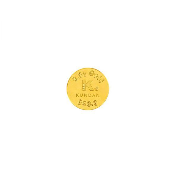 0.5g Gold Coin 24kt (999.9)