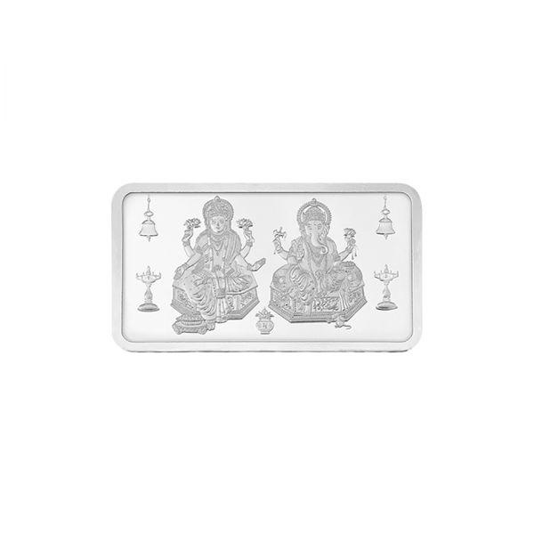 10g Silver Bar (999.9) - Lakshmi Ganesha