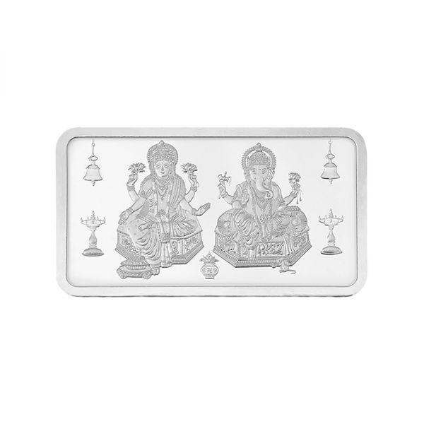 20g Silver Bar (999.9) - Lakshmi Ganesha
