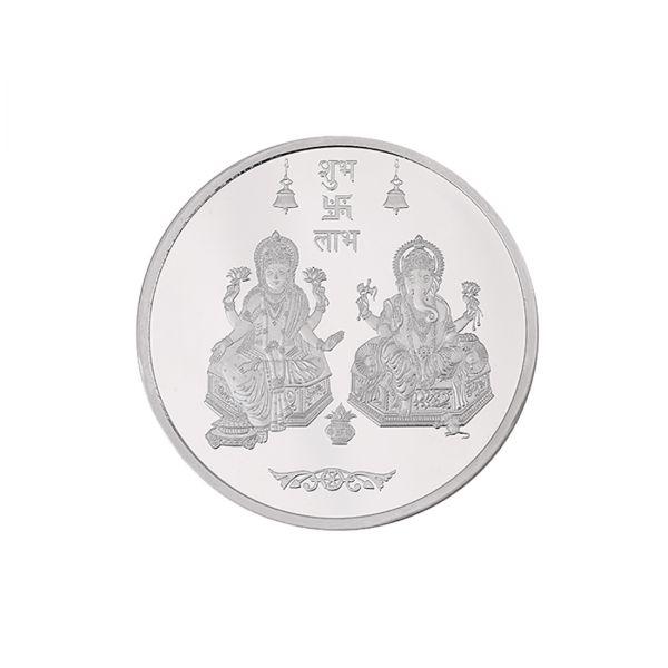 10g Silver Coin (999.9) - Lakshmi Ganesh