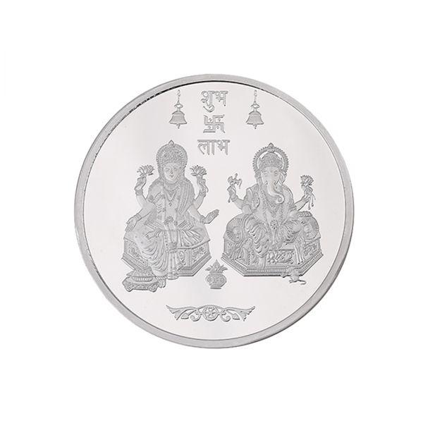 20g Silver Coin (999.9) - Lakshmi Ganesha