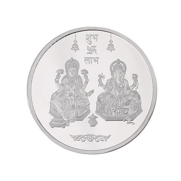 50g Silver Coin (999.9) - Lakshmi Ganesha