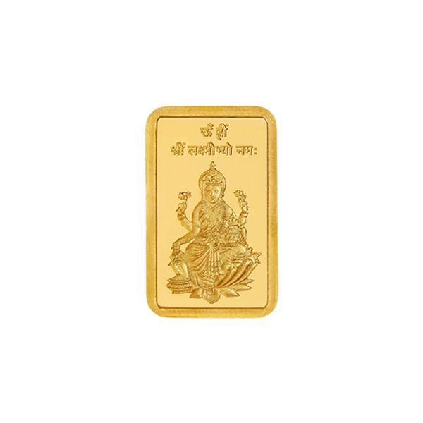 5g Gold Bar 24kt (999.9) - Lakshmi Ji