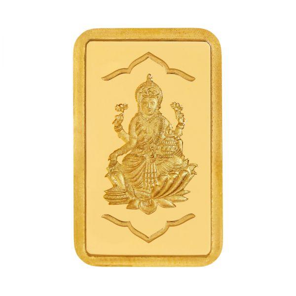 1g Gold Bar 24kt (999.9)  - Lakshmi Ji