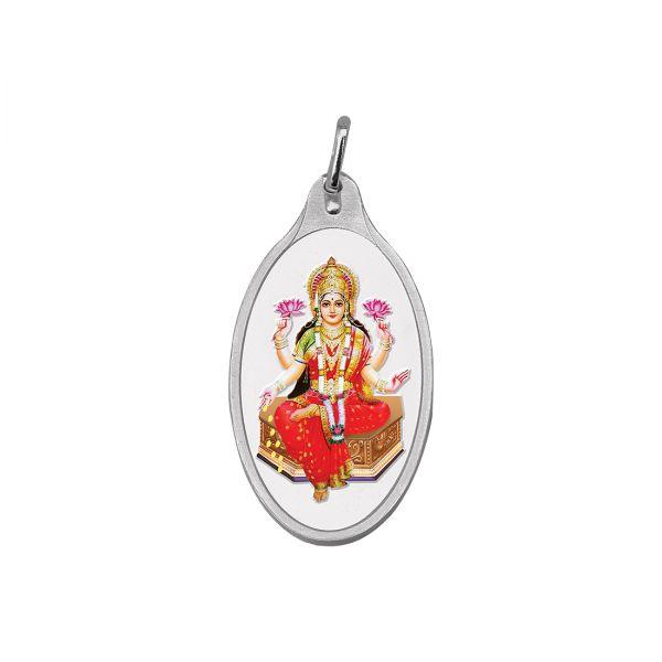 5.11g Silver Colour Pendant (999.9) - Lakshmi Ji