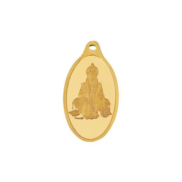 5g Gold Pendant 24kt (999.9)  - Hanuman