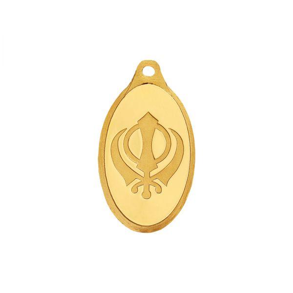 2.5g Gold Pendant 24kt (999.9)  - Khanda