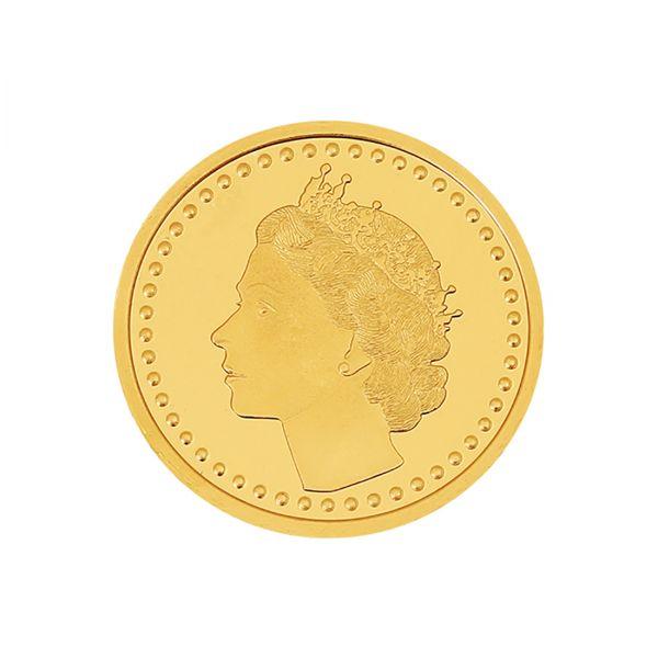 8g Gold Coin 22kt (916)  - Queen