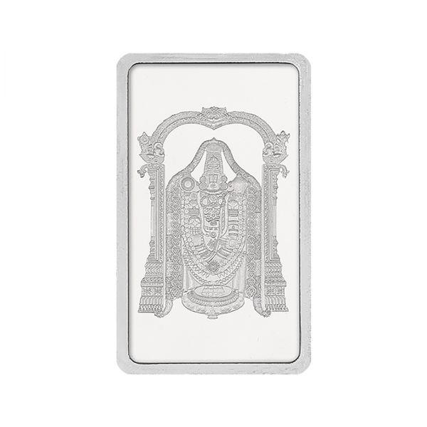 50g Silver Bar (999.9) - Tirupati Balaji