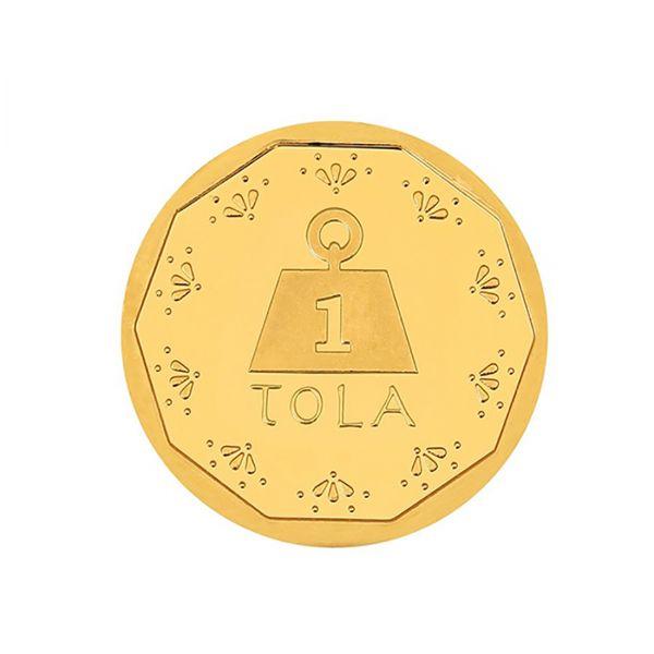 11.66g Gold Coin 24kt (999.9)  - Tola