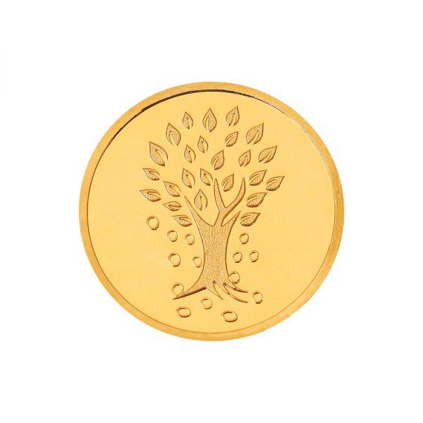 4g Gold Coin 24kt (999.9) - Kalpataru Tree