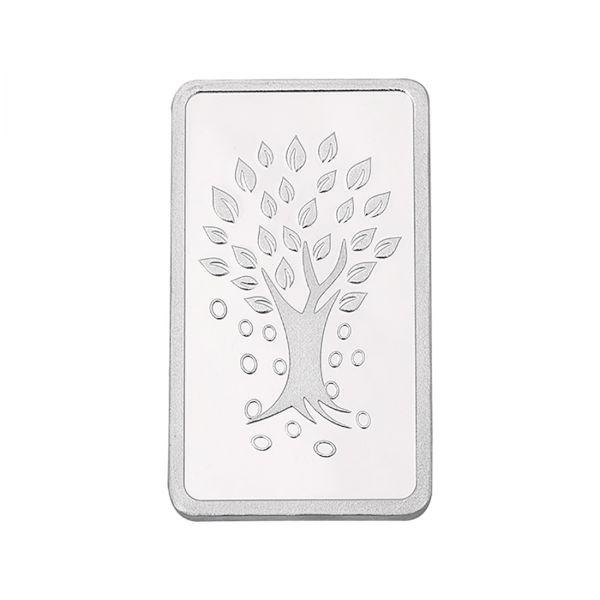 500g Silver Bar (999.9) - Kalpataru Tree