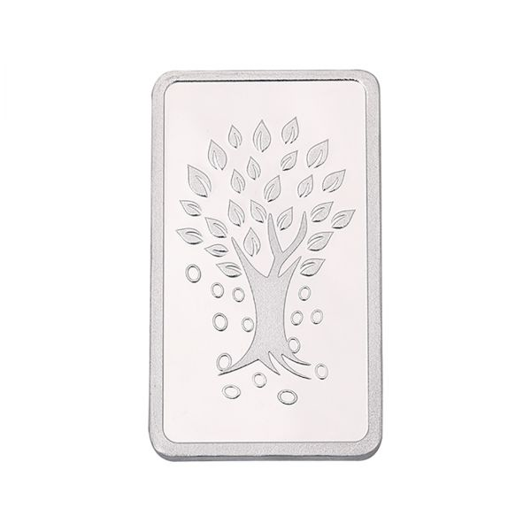 1000g Silver Bar (999.9) - Kalpataru Tree