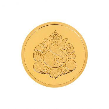 4g Gold Coin 22kt (916)  - Ganesha