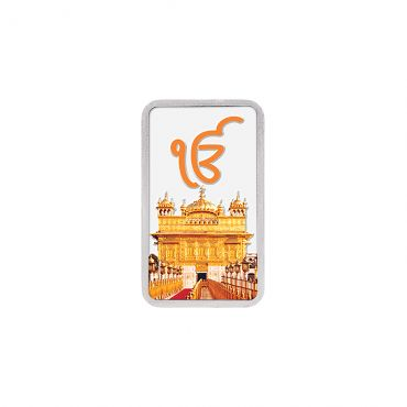20g Silver Colour Bar (999.9) - Golden Temple