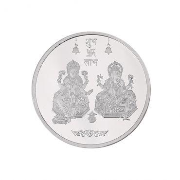 5g Silver Coin (999.9) - Lakshmi Ganesh