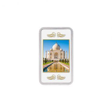20g Silver Colour Bar (999.9) - Taj Mahal