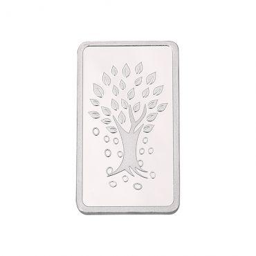 100g Silver Bar (999.9) - Kalpataru Tree