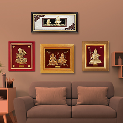 When In Doubt Gift Gold Embrace Relations With Kundan Frames