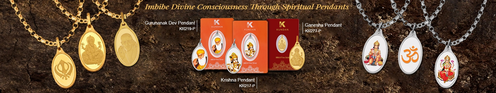 Imbibe Divine Consciousness Through Spiritual Pendants