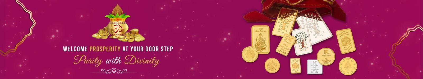 Welcome Prosperity this Akshaya Tritiya with Kundan Gold Collection