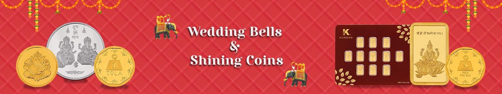 Wedding Bells & Shining Coins