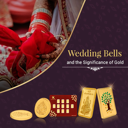 Wedding Bells and the Significance of Gold