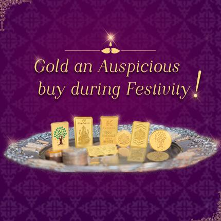 Gold An Auspicious Buy During Festivity