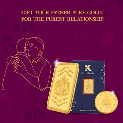 Gift Your Father Pure Gold For The Purest Relationship