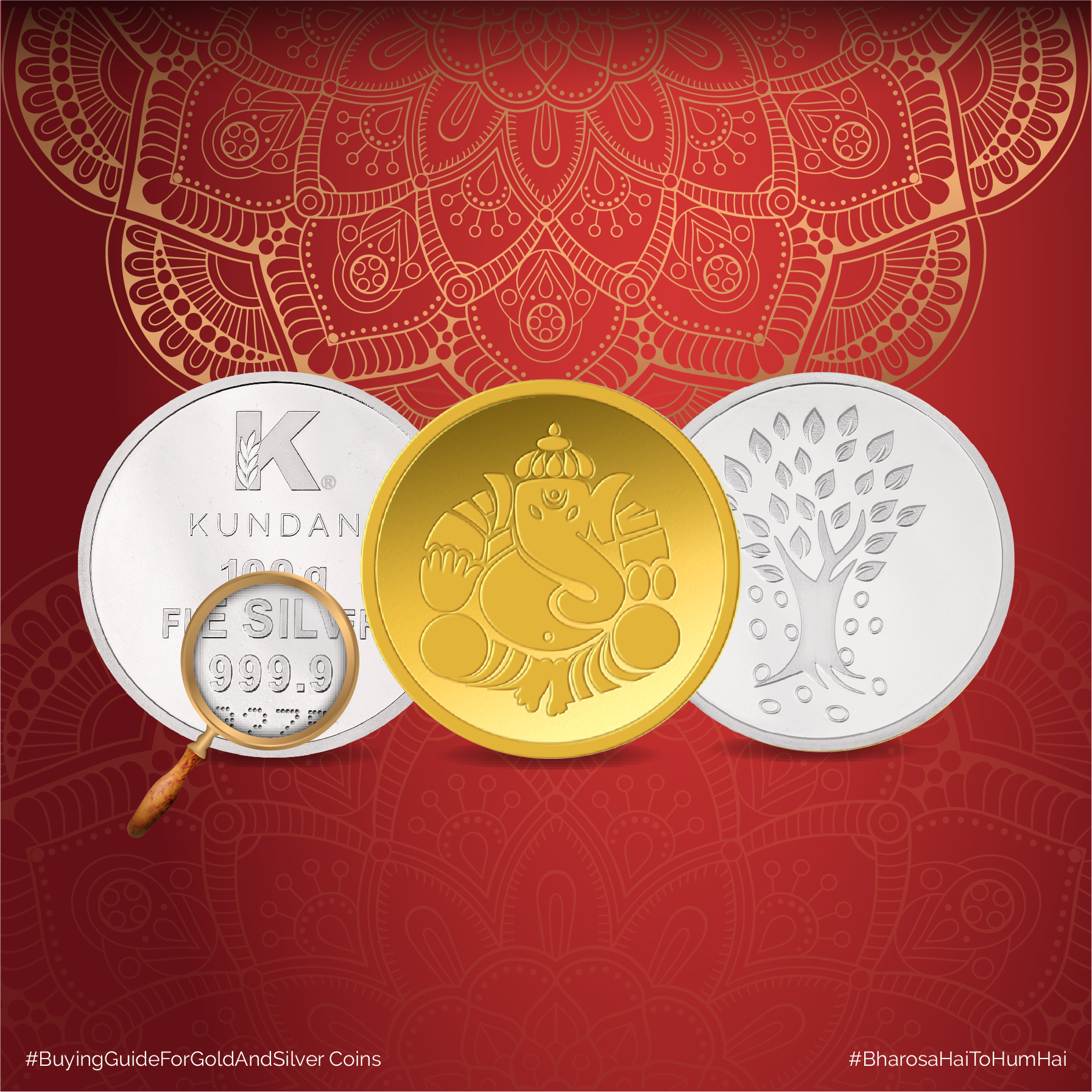 What do we need to keep in mind while buying Gold & Silver Coins